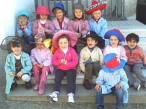 El hada Lilí está encantada con nuestros sombreros