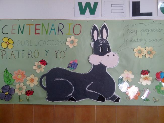 Gran mural: PLATERO Y YO.